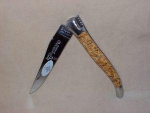 Navaja Laguiole en Aubrac 12cm Abedul