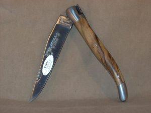 Navaja Laguiole en Aubrac 12cm Olivo