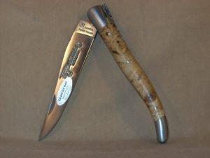 Navaja Laguiole en Aubrac 12cm Madera de Raiz