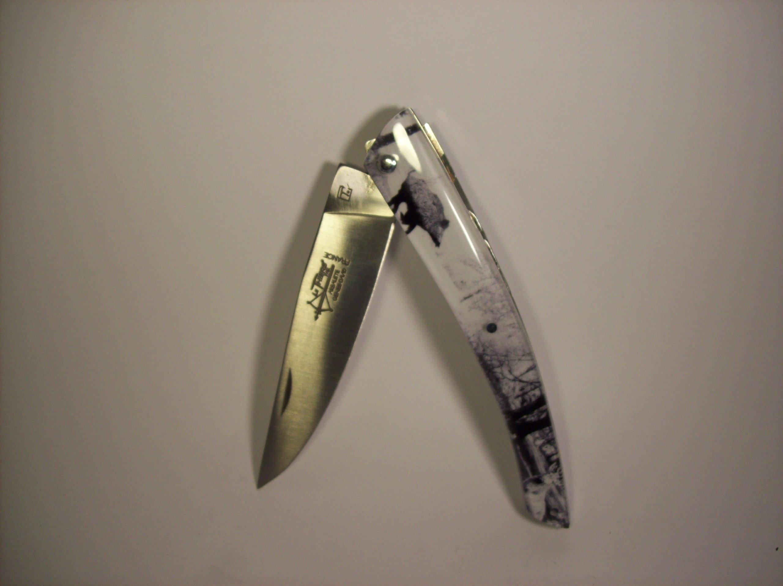 Navaja Arbalete G. David 12 cm Acrilico