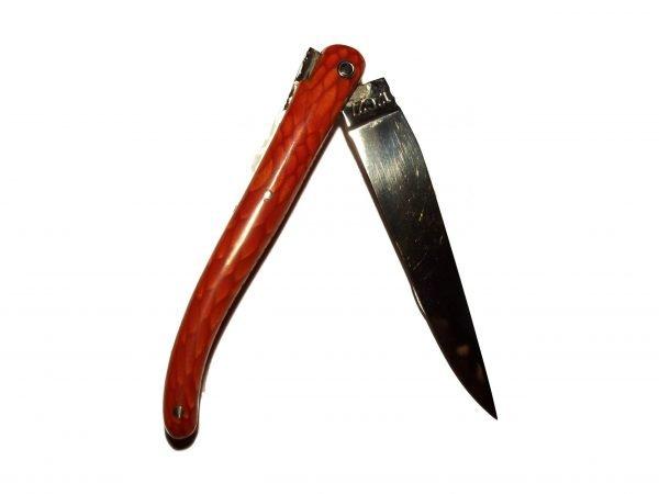 Navaja Laguiole en Aubrac 10,5 cm Juma Rojo