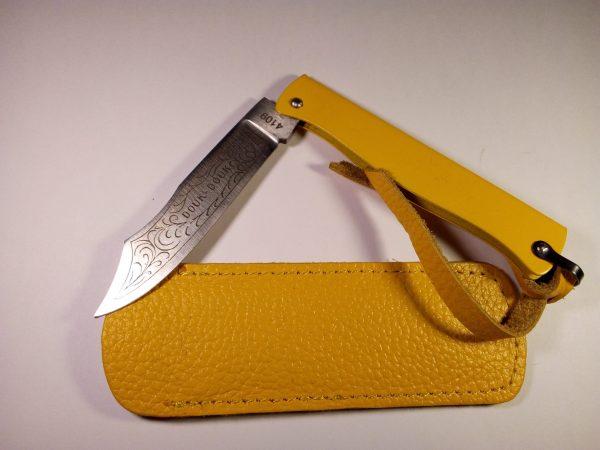 Navaja Douk-Douk 8,5cm Acero Amarilla