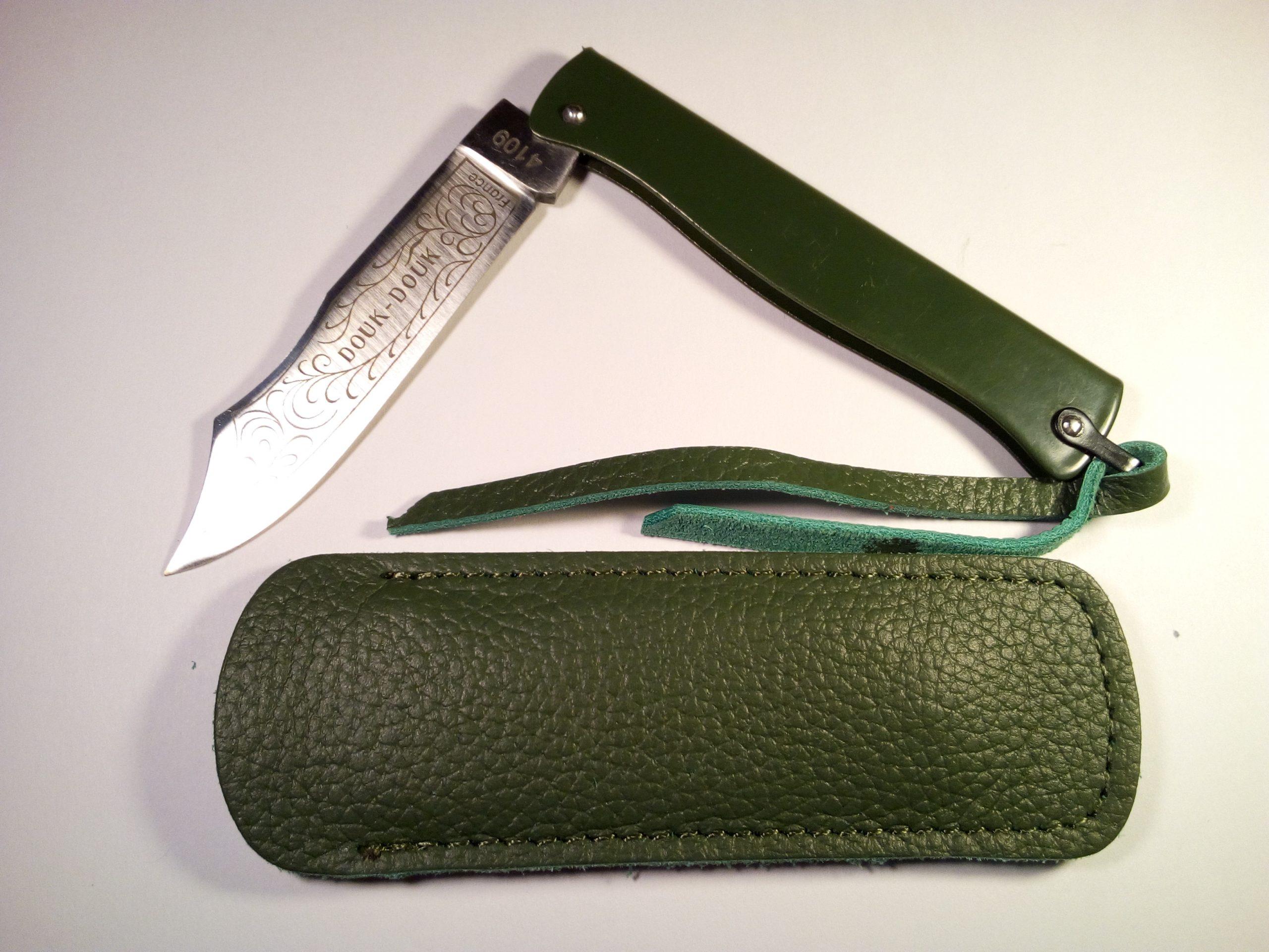 Navaja Douk-Douk 8,5cm Acero Verde