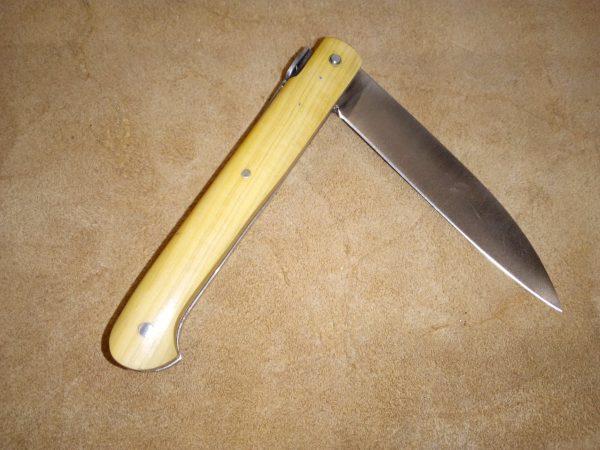 Navaja Sauveterre 9 cm Madera de Boj